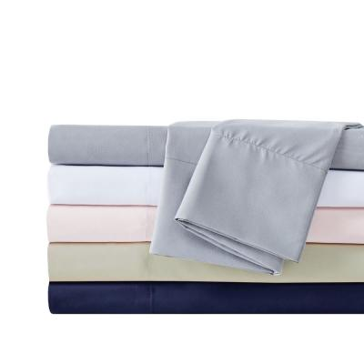 Antimicrobial Solid 200-Thread Count Microfiber Sheet Set