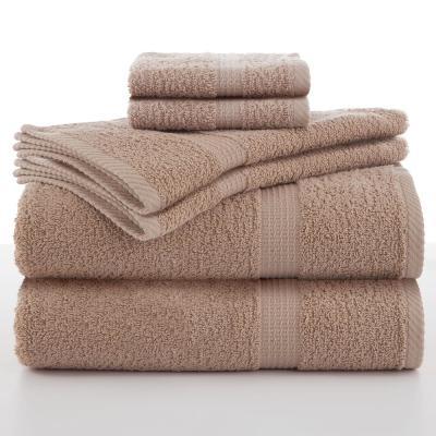 Essentials 6-Piece Cotton Towel Set