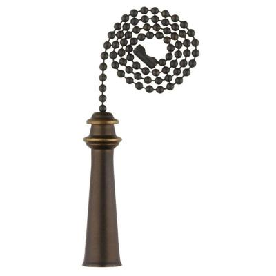 Oil-Rubbed Bronze Trophy Pull Chain