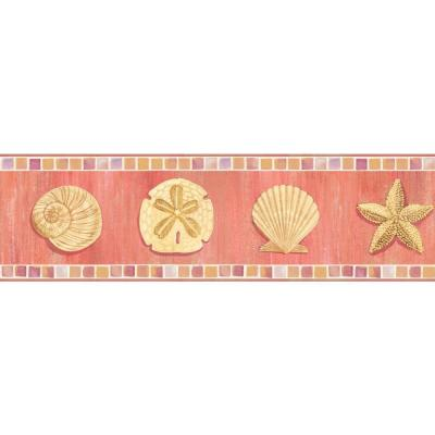 6 in. Ocean Mosaic Border Product Photo
