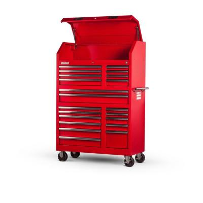 Tech Series 42 in. 20-Drawer Tool Tower, Red