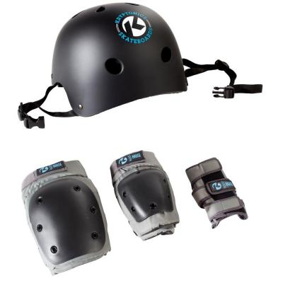 4-in-1 Youth Pad Set with Helmet