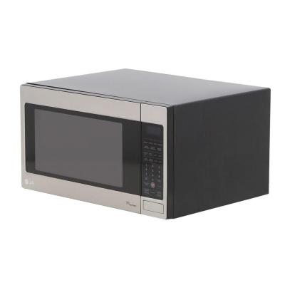LG Electronics 2.0 cu. ft. Countertop Microwave in Stainless Steel, Built-In Capable with Sensor Cooking