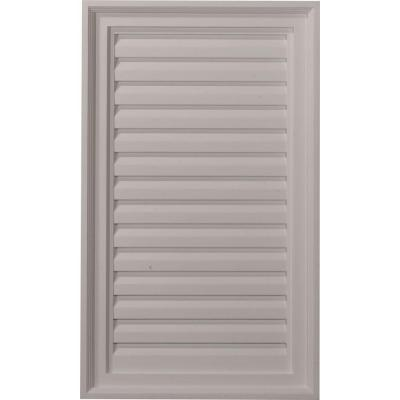 2 in. x 18 in. x 30 in. Decorative Vertical Gable Louver Vent Product Photo