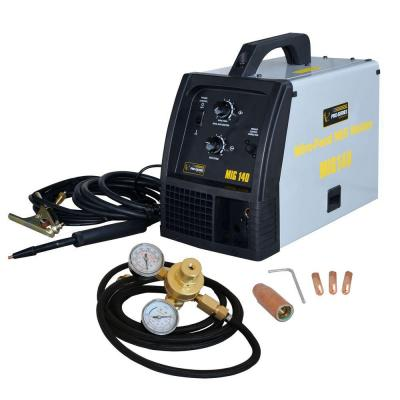 140 Amp Wire-Fed MIG Welder Kit