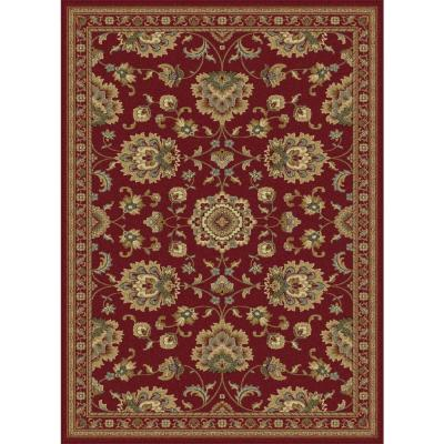 Sensation Red 7 ft. 10 in. x 10 ft. 3 in.