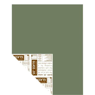 YOLO Colorhouse 12 in. x 16 in. Glass .05 Pre-Painted Big Chip Sample