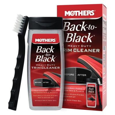 Back-to-Black Heavy Duty Trim Cleaner Kit (Case of 6)