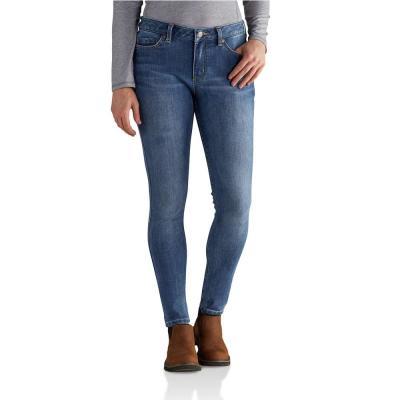 Women's Cotton/Polyester/Spandex Slim Fit Layton Skinny Leg Jean