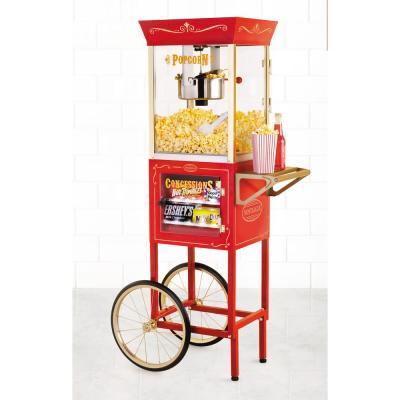 Nostalgia Vintage Collection 59 in. Popcorn and Concession Cart