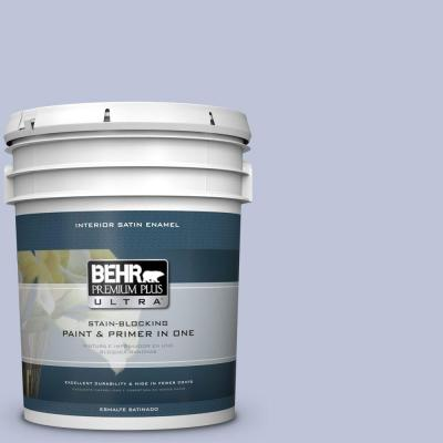 5 gal. #HDC-CT-15A Himalayan Poppy Satin Enamel Interior Paint