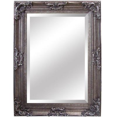 Yosemite Home Decor 35 in. x 46 in. Rectangular Decorative Antique Wood Resin Framed Mirror