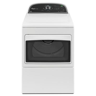 Whirlpool Cabrio 7.4 cu. ft. Electric Dryer in White