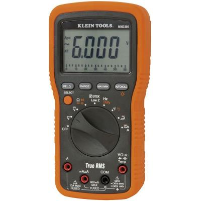 Klein Tools Electrician/HVAC Manual TRMS Multimeter