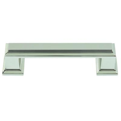 Sutton Place Collection 3.84 in. Polished Nickel Pull