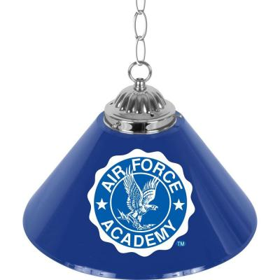 Air Force Falcons 14 in. Single Shade Stainless Steel Hanging Lamp