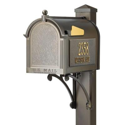 Superior French Bronze Streetside Mailbox Product Photo
