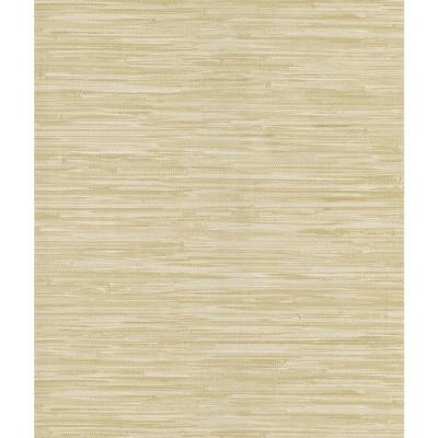 National Geographic 56 sq. ft. Faux Grasscloth Wallpaper