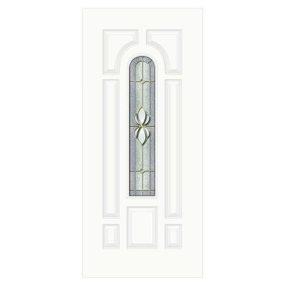 36 in. x 80 in. Langford Center Arch Primed Premium Steel