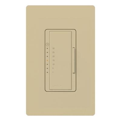 Maestro 5 Amp Countdown In-Wall Digital Eco-Timer - Ivory