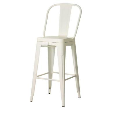 Garden 45.5 in. H Ivory Bar Height Stool Product Photo
