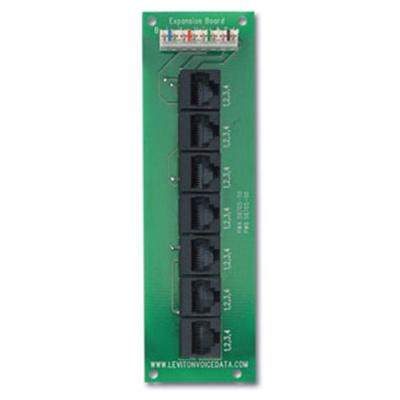 Leviton Structured Media Telephone Patching Expansion Board 101-47609-EMP