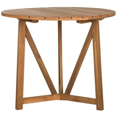 Cloverdale Teak Round Outdoor Patio Dining Table