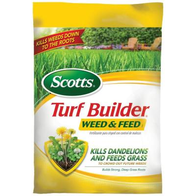 Scotts 5,000 sq. ft. Turf Builder Weed and Feed Zero Phosphorus Fertilizer