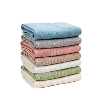 Softee 6-Piece Solid Cotton Bath Towel Set