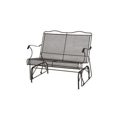 Arlington House Jackson Patio Loveseat Glider 7894000 0105157 The Home Depot
