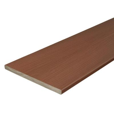 Horizon 3/4 in. x 11-1/4 in. x 12 ft. Rosewood Capped