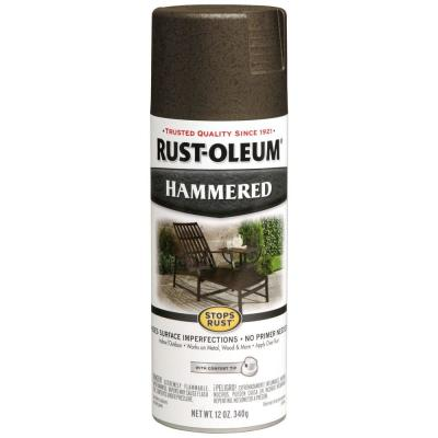 bronze protective enamel hammered spray paint 7218830 the home depot. Black Bedroom Furniture Sets. Home Design Ideas