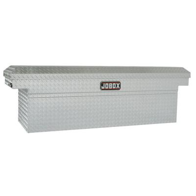 72 in. Aluminum Single Lid Deep and Extra-Wide Full Size Crossover