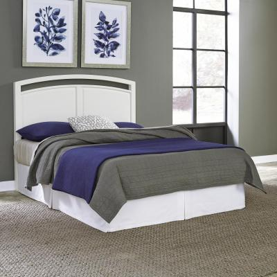Home Styles Newport White King Headboard