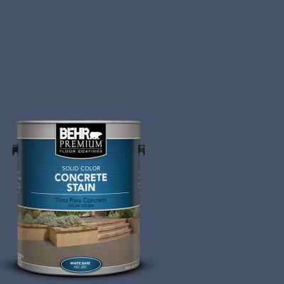 BEHR Premium 1-Gal. #PFC-60 Deep Galaxy Solid Color Concrete Stain
