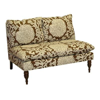 Home Decorators Collection West End Chocolate Loveseat