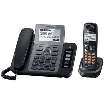 Panasonic DECT 6.0+ 2 Line Corded/Cordless with USB KX-TG9471B