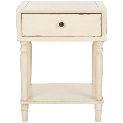 Vanilla Siobhan Distressed Accent Table Product Photo