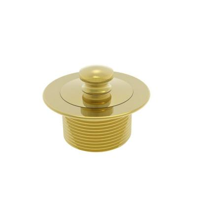 Brasstech 2-13/16 in. Lift and Turn Bath Plug in PVD Forever Brass