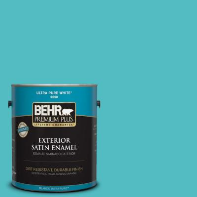 Home Decorators Collection 1-gal. #HDC-WR14-6 North Wind Satin Enamel Exterior