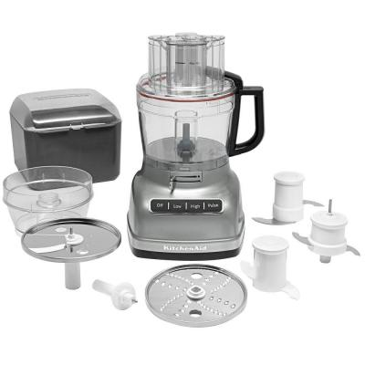 ExactSlice 11-Cup Food Processor with External Adjustable Lever in Contour