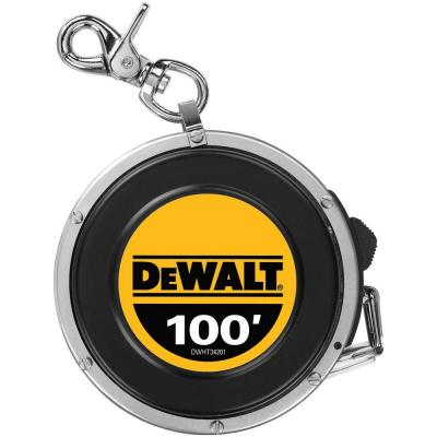 DEWALT 100 ft. Steel Auto-Rewind Long Tape