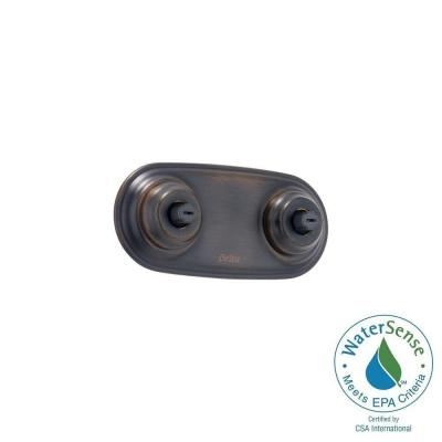 Delta Victorian Jetted Shower Jet Module Trim in Venetian Bronze Featuring H2Okinetic
