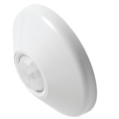 Ceiling Mount 360 Degree Passive Dual Technology Motion Sensor - White Product Photo