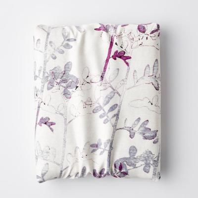 Shadow Petal Botanical 300-Thread Count TENCEL™ Lyocell Fitted Sheet