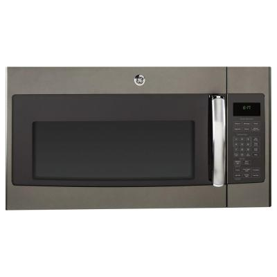GE 1.7 cu. ft. Over the Range Microwave in Slate with Sensor Cooking
