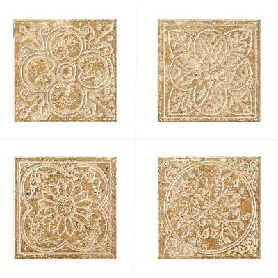 MARAZZI Montagna Cortina 6 in. x 6 in. Porcelain Embossed Deco Floor and Wall Tile