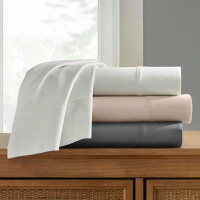 300 Thread Count Wrinkle Resistant Cotton Sateen Sheet Set