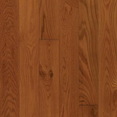 Oak Gunstock 3/8 in. Thick x 3-1/4 in. Wide x Random Length Engineered Click Hardwood Flooring (23.5 sq. ft. / case) Product Photo