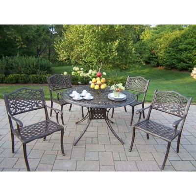 Oakland Living Capitol 5-Piece Patio Dining Set